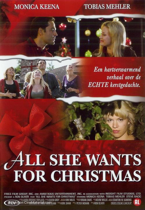 All She Wants for Christmas - Danish Movie Poster
