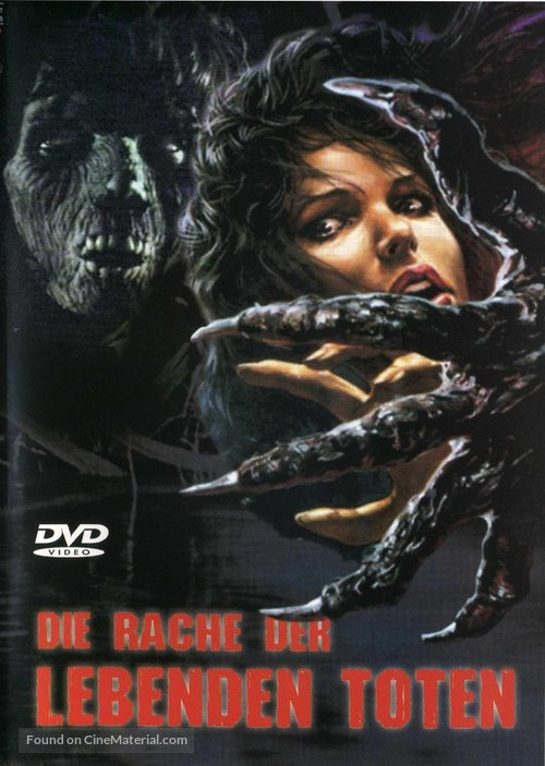 La revanche des mortes vivantes - German Movie Cover