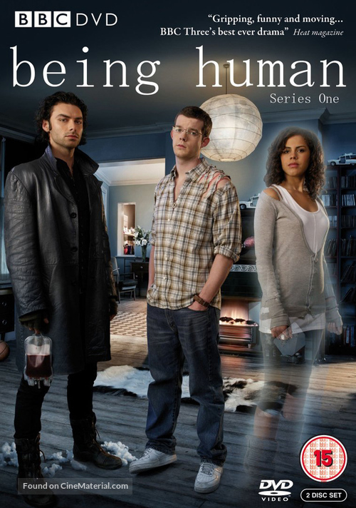 """Being Human"" - British DVD movie cover"