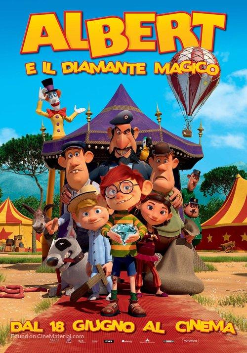 Albert - Italian Movie Poster