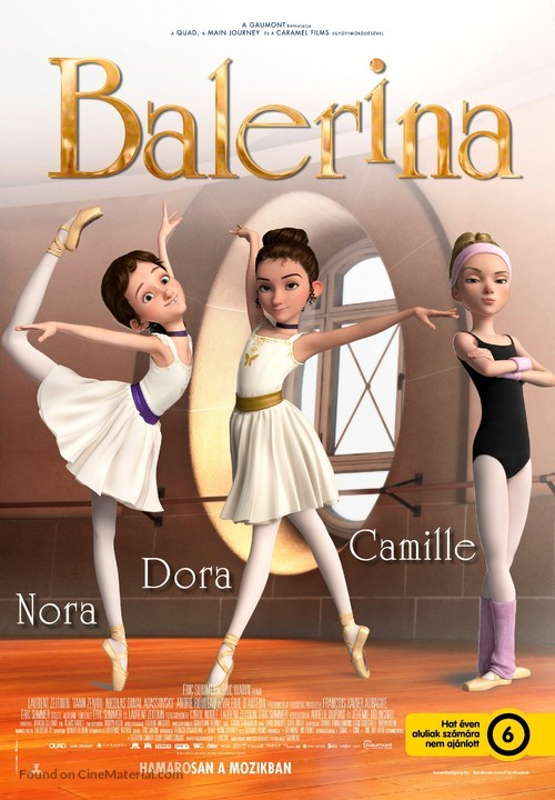 Ballerina Hungarian Movie Poster