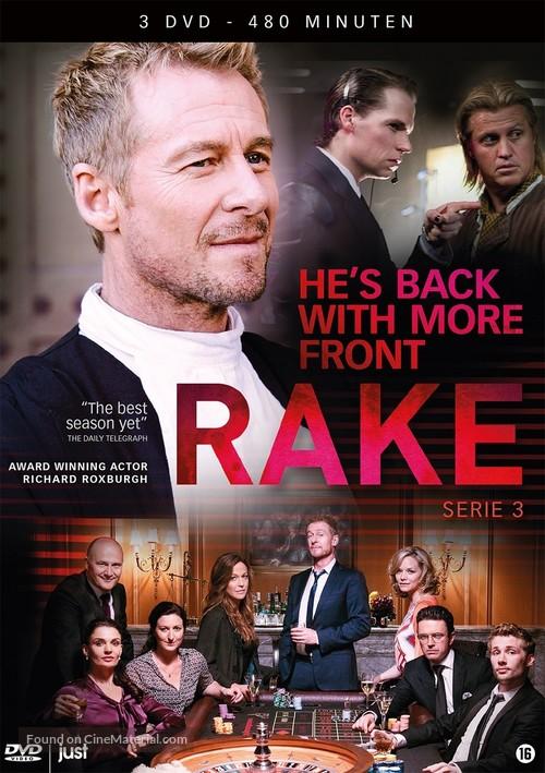 """Rake"" - Dutch DVD movie cover"