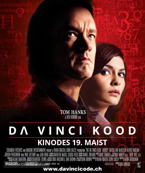 The Da Vinci Code - Estonian Movie Poster