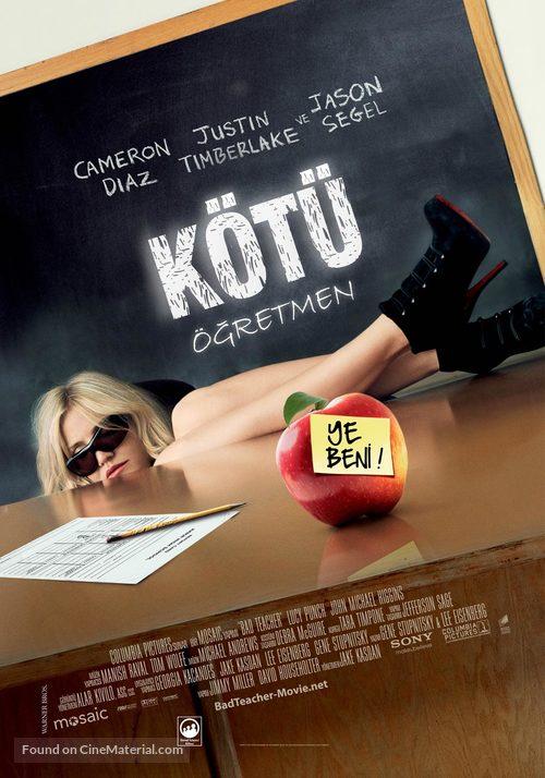 Bad Teacher - Turkish Movie Poster