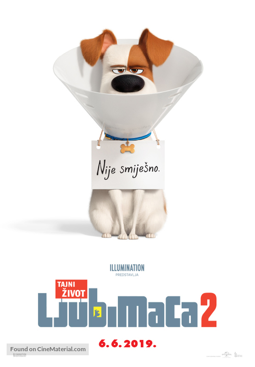 The Secret Life of Pets 2 - Croatian Movie Poster