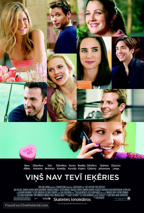He's Just Not That Into You - Latvian Movie Poster