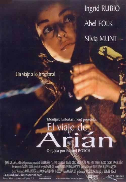 El viaje de Arián - Spanish Movie Poster
