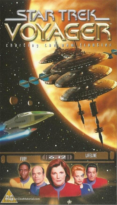 """Star Trek: Voyager"" - British VHS movie cover"