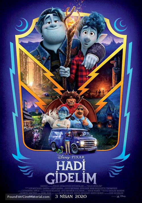 Onward - Turkish Movie Poster