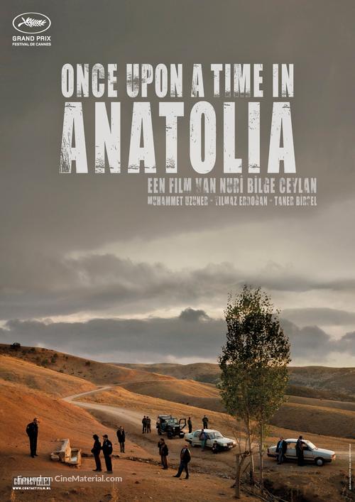 Bir zamanlar Anadolu'da - Dutch Movie Poster