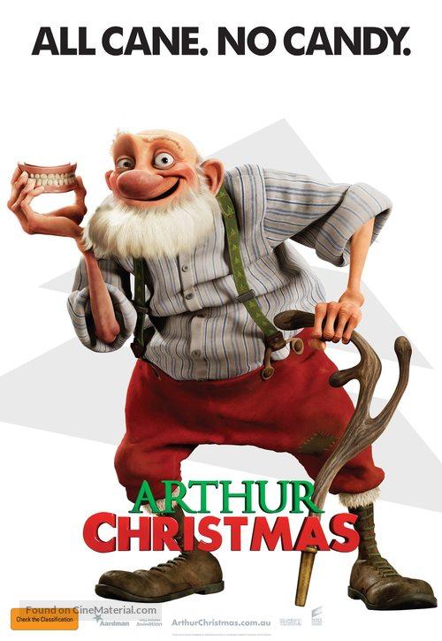 Arthur Christmas - Australian Movie Poster