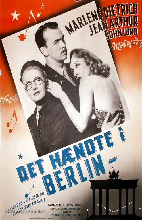A Foreign Affair - Danish Movie Poster