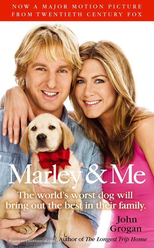 Marley Me 2008 Movie Cover